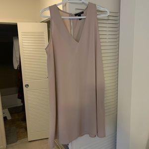 Blush nude A Line shift dress